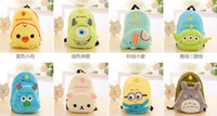 animation camera - Creative cartoon animal purse Totoro Minions Rilakkuma Bear satchel backpack coin purses wallet cell phone camera bag makeup bags animation