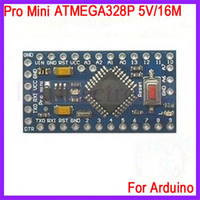 Wholesale 2pcs Pro Mini For Arduino Improved Version ATMEGA328P V M Electronic Blocks