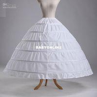 Wholesale Super big A Line bridal gowns petticoat underskirt and little girls pageant dress crinoline