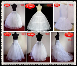 Wholesale Cheap A Line bridal gowns petticoat underskirt and little girls pageant dress crinoline