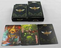 LOL League of Legends Poker 18 Style de jeu Card Animations Autour de papier d'art Jeux Poker Card Matériel 400G