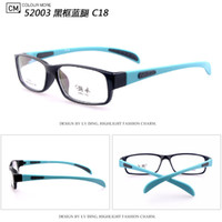 Unisex Full-Rim Square Wholesale - 2014 New Arrival TR90 Sports Optical Frame Light And Soft Glasses Frame Comfortable EyeGlasses Mix Colors 12pcs lot