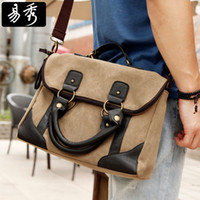 Wholesale Eshow handbags for men designer handbags fashion large handbags for laptop vintage briefcase bags for men BFK008501
