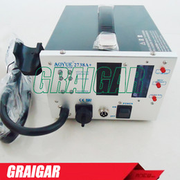 FREE SHIPPING AOYUE 2738A+ 3-in-1 Lead Free Soldering Station Multifunctional Repairing System Repair Rework station AOYUE2738A+