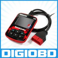 Code Reader diagnostic code reader - Mini auto diagnostic tool T20 for OBD2 EOBD auto code reader with Color screen easy for use T20