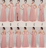 2014 Bridesmaid Dress For Maid of Honor Mix style Real Photo...