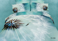 Cheap *3d Your Life! 100% natural cotton 4pcs comforter cover set queen size 3d bed sheet