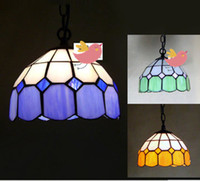 Wholesale Single European Mediterranean Chandelier Lighting Ceiling Light Pendent Lamp Foyer Hallway Lamp Shade Creative Arts Corridor Lighting