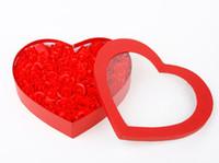 bath soap gift sets - Washing room set Bath Rose Flower Paper Petals Soap Gift Organtic Wedding Gift Favor Mulit Color Soap