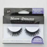 Wholesale pairs MINK FUR Eye Lash extension Artificial Fake False eyelashes D
