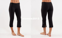 Wholesale wunder under crop shorts yoga pants Course Pantacourt Inspire women elastic trousers black