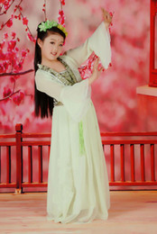 Wholesale order traditional Chinese ancient tang dynasty girls clothing hanfu stage costumes children clothing