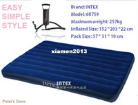 Wholesale air mattress cm inflatable bed with hand pump