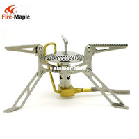 Wholesale Fire Maple FMS Genuine high power Split Type butane gas camping stove no cylinders