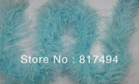Wholesale cm ostrich Feather Strip Weddingor party Marabou Feather Boa Color selected m length