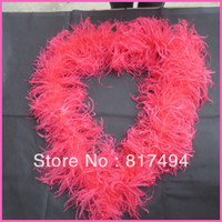 Wholesale 200cm length layers each peice ostrich feather boa