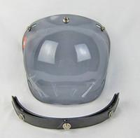 bell helmets motorcycle - Motorcycle sports helmet bell goggles torc lenses vintage bubble lens