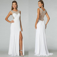 2014 Top Sheer Lace Alluring Evening Gown Floor- Length Free ...