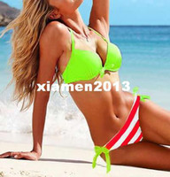 Wholesale Novelties Women Bikini Sexy Swimwear VS Summer Beach Wear Swimming Suits Items Tops and Pants