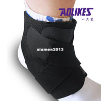 Wholesale Aolikes sports protection ankle support compression ventilate prevent strain table tennis ball badminton volleyball
