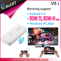 USB TV Tuners miracast dongle V5i Vsmart V5i wifi display linux miracast usb wifi tv dongle usb tv dongle miracast+dlna+widi+ipush for ios windows android and Mac iphone mirr