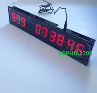 Wholesale 1 High Day amp HH MM SS Programmable LED Countdown Clock Countdown amp Count Up Special Event Day Timer Modern Metal LED Digital Wall Clock