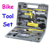 Wholesale DHL OR Fedex ROSWHEEL Bike Bicycle Repairing Tool Set Kit Case Box Universal for Mountain Road Bicycle in