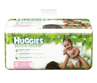 Wholesale HUGGIES Pure Natural Diapers Size lbs