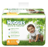 huggies - HUGGIES Pure Natural Diapers Size lbs