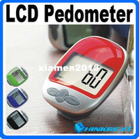 Wholesale Large Screen LCD Display Multifunction Electronic Authentic Calorie Pedometer treadmill Walking Motion Tracker