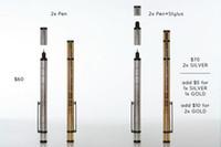 Wholesale Amazing Airkes polar stylus pens magnet stylus magnetic pens pure silver k gold stylus Arikes polar pens Arikes polar stylus