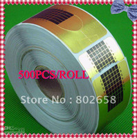 Wholesale roll Nail Forms for Acrylic UV Gel Nail Tip Extension