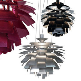 Wholesale New European Style Modern Stylish Simplicity Aluminum CM Poul Henningsen PH Artichoke Ceiling Light Pendant Lamp Hanging Lighting
