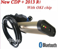 Cheap 2013 best price ! TCS cdp SCANNER tools + OKI CHIP with Bluetooth+newest 2013.R1 keygen in CD for Car s& Trucks 2 in 1 Free ship