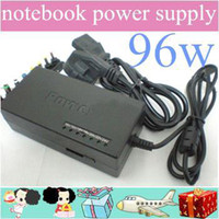 Wholesale DHL sales promotion W Universal Laptop Power adapter W AC charger Dell plug DAB