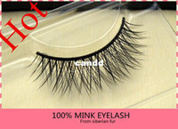 Wholesale New Real Thick Mink Strip Lash code P2 False Individual Thick mink Eyelash style for your choice