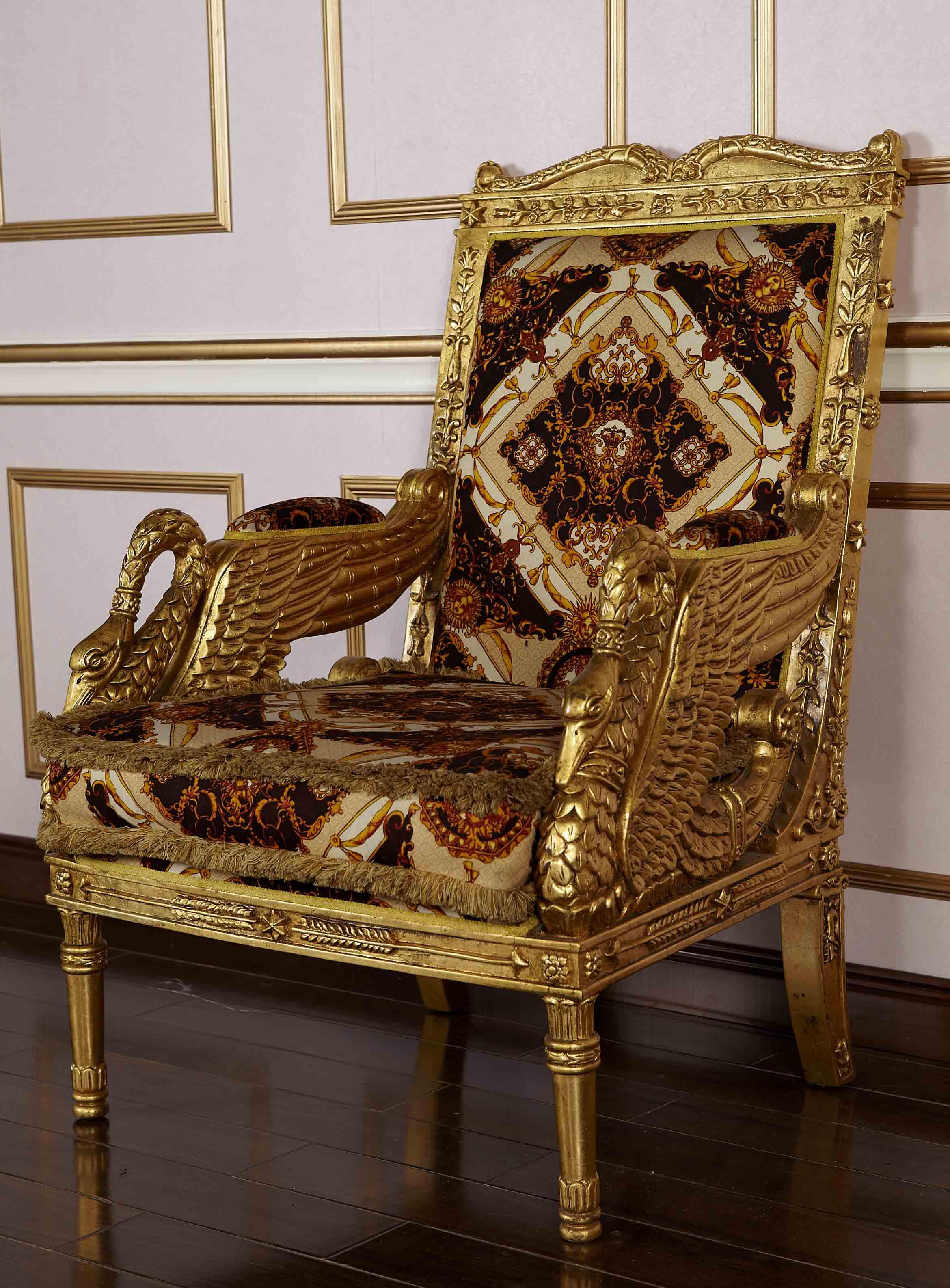 Royal Classic European Furniture   Hand Carved Solid Wood Armchair Royal Sofa  European Furniture Solid Wood Armchair Online With $1470.62/Piece On ...