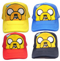 adventure time hat - New arrival Cartoon Adventure Time Cosplay Cute Sun Hats four Colors Children s gifts