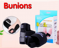 Wholesale Black Toe Bunion Splint Straightener Foot Care Corrector Pain Relief Hallux Valgus DHI