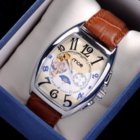 Wholesale Mens Luxury Watches Business Man Japan Movt Watches Golden Tourbillion Mechanical Watch Invicta Watches