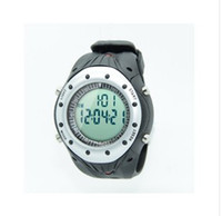 Wholesale Sport Wireless Heart Rate Monitor Sport Watch Black Wristwatch for jogs bicycles treadmill or any sport or activity