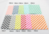 Wholesale Striped Polka Dot Chevron Paper Candy Bag for wedding decoration Christmas Party Halloween Holiday