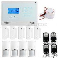 Wholesale Wireless Home GSM SMS TEXT Alert Security Burglar Alarm System Motion Door Sensors