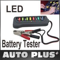 Wholesale Tirol V Digital Battery Alternator Tester with LED Lights Display Car Vehicle Battery Diagnostic Tool K1027