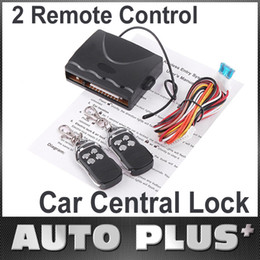 Wholesale Universal Car Remote Central Lock Auto Alarm Locking Keyless Entry System Remote Controllers K410