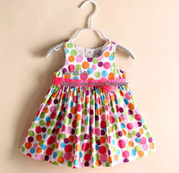 Cheap Kids Summer Dress Children Dresses Girl Clothes Infant Dress Baby Dresses Child Dress Children Clothing Baby Girl Dresses Princess Dress