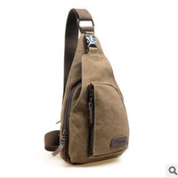 Wholesale Cheap Chest Bags For Man Cycling Sports Canvas colors Mix High Quality B5