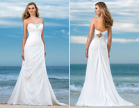 Hot Selling Simple Design White Chiffon Soft Pleated Beaded ...