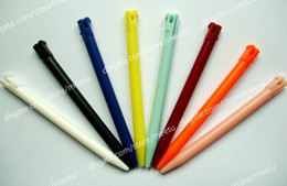 Wholesale Brand New Touch Screen Plastic Stylus Pen Pens for Nintendo DS N3DS Mixed Color High Quality Fast shipment