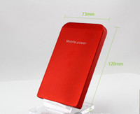Wholesale 50cps Sufficient capacity mAh power Charger Portable USB Power Bank Charger For Mobile Phone MP3 MP4 colors